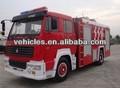 Lutte contre l'incendie de camion howo4*2 266hp( euro 2)