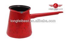 Hot sale carbon steel enamel coffee pot, coffee & tea sets