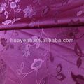 100% poliéster cortina de jacquard de flores tapicerías de automóvil materiales para sofá