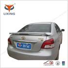Fuel Saving Fiberglass Spoiler with light for Toyota VIOS 08-10 Screw Installation Car Exterior Accessories