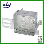 Hot dipped galvanized steel different size in ground wall or underground installed electric meter box cover metal electrical box