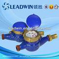 Seco- dial medidor de água, doméstico de água medidor de resistência