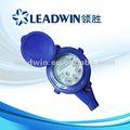 Medidor de agua con dial-seco, medidor de agua doméstico, precio bajo
