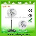 haute puissance industrielle en 1 2 ventilateurs sur pied