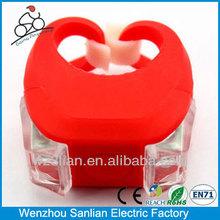 china factory new 2014 High Power Shakeproof cree led bike helmet light mount
