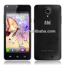 THL T5s mobile phone MTK6582WM Quad Core 1.3Ghz Dual sim card 8MP 3G smartphone 4.7 QHD screen
