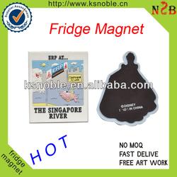 3d customized soft pvc fridge magnet