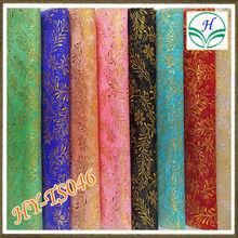 La chispa de papel de tela de organza para la decoración de navidad, bolsas de organza
