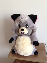 raccoon plush stuffed toy plush raccoon toy