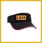 100% cotton visor/ cheap cap/ visor hat with printing
