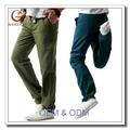 bon marché et chemise pantalon en lin pour hommes