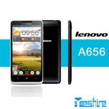 Cheap big screen Android phone Lenovo A656 MTK6589,A7 quad core dual sim 3G GPS mobile phone
