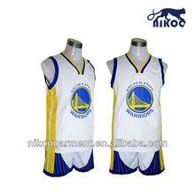 Full sublimation custom ncaa basketball jerseys