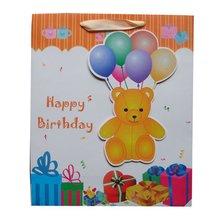 Xiamen manufacture custom kids birthday party gift bags