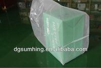 square bottom plastic bag
