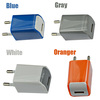 universal travel EU USB wall charger travel mobile charger pouch for samsung/iphone series