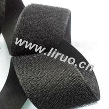 Black Nylon Super Lock Velcro