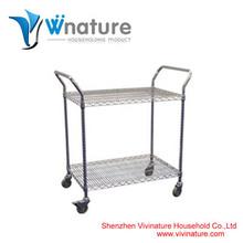 VN-SR0005 wire shelving mobile utility cart