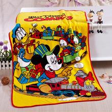 soft 100% polyester cartoon children blanket