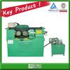 Hydraulic steel rod threading machine