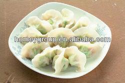 Chinese Traditional food Frozen vegetables stuffed dumplings