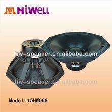 15inch neodymium super pro audio woofer speaker