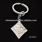 Rhombus Alloy Keychains Zhejiang Articles
