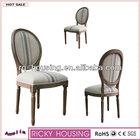 Linen louis xv chair fabric