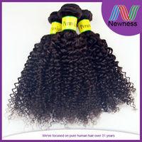 Wholesale Virgin Remy 5a Kinky Baby Cur Indian Hair Bun