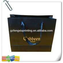 Wax Coated Retail Paper Shopping Bags
