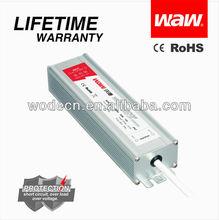 60W 12V waterproof power supply for LED lightings BG-60-12