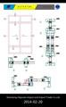 2014 venta caliente de alta calidad de aluminio perfil de ventanas correderas