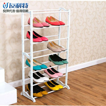 Saling aluminum and plastic shoes shelf drawing room