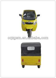 bajaj style passenger three wheel motorcycle taxi