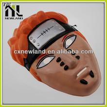 Uso muy popular de la máscara de pvc naruto máscara máscara veneciana