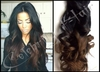 100% brazilian 1b/2# ombre lace front wig & full lace wigs wholesale hair wigs for black men