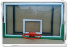 clear basketball backboard