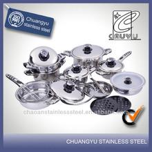 Cápsula de acero inoxidable de los utensilios de cocina de juguete