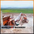 High capacity artificial quartz/quarry stone crushing plant