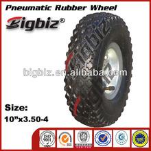Passeggino ruote in gomma, levigatura pneumatico di piccole dimensioni ruote in gomma