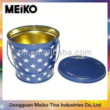 oval tin buckets party ice tub