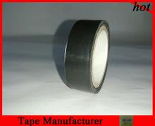 self adhesive black pvc insulation electric insulation tape