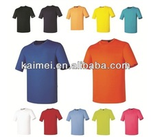 Men's plain t-shirt 180gsm,bulk wholesale short sleeve t-shirts,t shirts cotton blend promotional