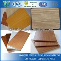 Wood grains melamine paper plywood