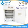 full automatic egg incubator AI-264 for sale used car dubai egg incubator