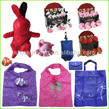 Foldable Shopping bag Reusable Super Market Pouch Recycle Eco Bags