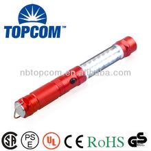 16+8+1 red laser led for working magnet flashlight