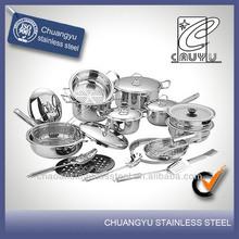 stainless steel capsule bottom porcelain ceramic cookware