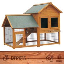 Animal Habitat Indoor Rabbit Hutch Pet Rabbit Cages Supplies For Sale DFR051