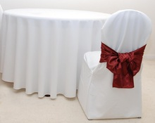 Wedding Decoration Chair Covers and Table Covers SD-03
